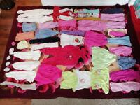 Bundle girls clothes size 9-12, good condition.