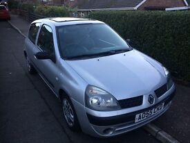 Renault Clio 1.4 full mot 80k 2005
