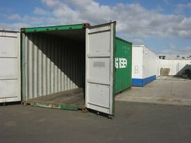 20ft x 8ft Used Shipping Container's For Sale + FULLY CERTIFIED FOR SHIPPING + portable cabin shed