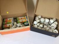 Light bulbs - assorted