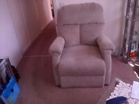 PRIDE RISER RECLINER CHAIR FOR SALE