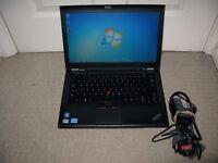 "Lenovo T430 14"" i5-3320M, 4 GB RAM, 160 GB SSD laptop/ PERFECT"