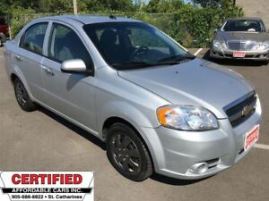 2011 Chevrolet Aveo LT ** CRUISE, A/C, AUX. IN **