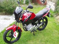 """Yamaha YBR 125 Motorcycle """"As New""""!"""