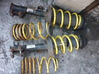 2009 corsa d shocks and 60mm lowering springs apex