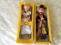 Vintage Boxed Pelham Puppets - The Witch and The Fairy