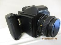 PENTAX 645 FILM MEDIUM FORMAT CAMERA