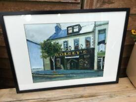 Bangor Pub Paintings oil on canvas