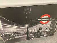 Large London Picture - silver frame
