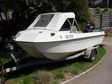 TRIDANT  4.2mt Fibreglass Fishing Boat with 30hp Suzuki Motor Sorrento Mornington Peninsula Preview