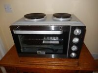 Morphy Richards Worktop Mini Oven with 2x Hobs