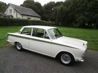 LOTUS CORTINA MK1/MK2 WANTED IN ANY CONDITION FROM RESTORED TO GARAGE/BARN FIND * TOP PRICES PAID *