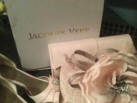 Jacques Vert woman's shoes /bag/fascinator