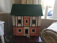 Victorian hand crafted dolls house