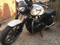 2010 Triumph Bonneville, FSH, fully modded with lots of extras of Tec and Motobe accessories.