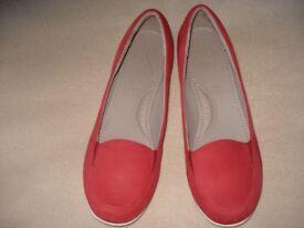 Ladies Suede 'Footglove' Shoes