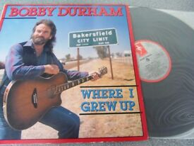 Bobby Durham (2) ‎– Where I Grew Up Demon Records ‎– Fiend 110 Vinyl, 1987 LP, Album MNT