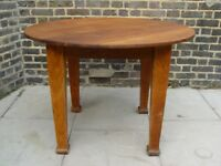 FREE DELIVERY Antique Wooden Table Retro Vintage Furniture