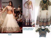 Custom Made Bridal Lehenga Choli & Gowns - Haute Couture. Get your personalized lengha choli