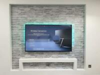 Tv wall mounting/ tv installation