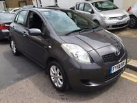 TOYOTA YARIS 1.4 D4D DIESEL TR 2008 (58) 7 STAMP, 2 KEY,LONG MOT,VERY CLEAN HPI CLEAR 1 FORMER OWNER