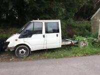 Ford Transit Chassis Crew Cab Spares/Repair 2.3 Petrol & LPG