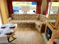 Cheap static caravan isle of wight, 12 month seafront park, for sale with site fees included,6 berth