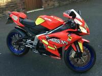 Aprilia rs125 full power spains under 7k loads of carbon vgc swap only for yzf r125