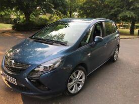 2014 Vauxhall Zafira Tourer 2.0 CDTi SRi 130 BHP