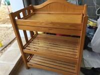 Mamas and Papas changing table / cot top changing table