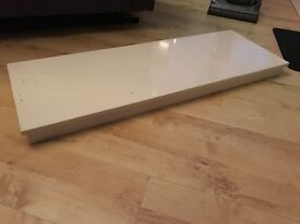 FREE Cream marble fireplace hearth