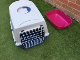 Cat box and litter tray