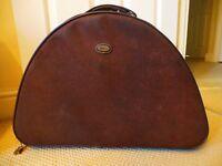 Brown Suede 'Aston' Weekender bag/holdall