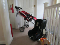 Icandy Cherry baby pram, stroller and car seat