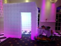 Fully automated inflatable Photo Booth for hire! Special offer of £250 for 3 hours
