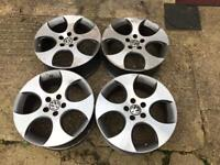 """18"""" genuine Monza GTI alloy wheels 5x112"""