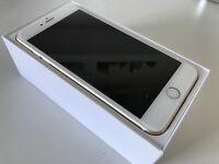 Apple iPhone 6s plus 65GB Gold Sim Free plus dock and cases