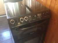 Black Ceramic electric cooker 60cm..Cheap Free delivery