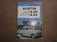 Austin A 30 / 35 Hand Book