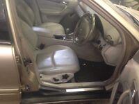 Mercedes C-class full beige leather interior