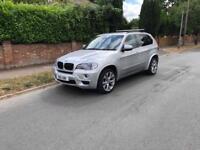 2010 10 BMW X5 3.0 30D M SPORT X DRIVE AUTO SILVER