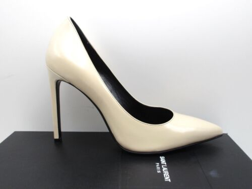 Saint Laurent YSL Nude Powder Paris 105 Classic Pumps Shoes 40 10