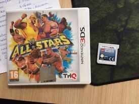 Nintendo 3DS WWE All Stars + Lego Star Wars 3