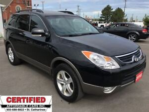2012 Hyundai Veracruz GLS ** AWD, HTD LEATH, SUNROOF, BLUETOOTH