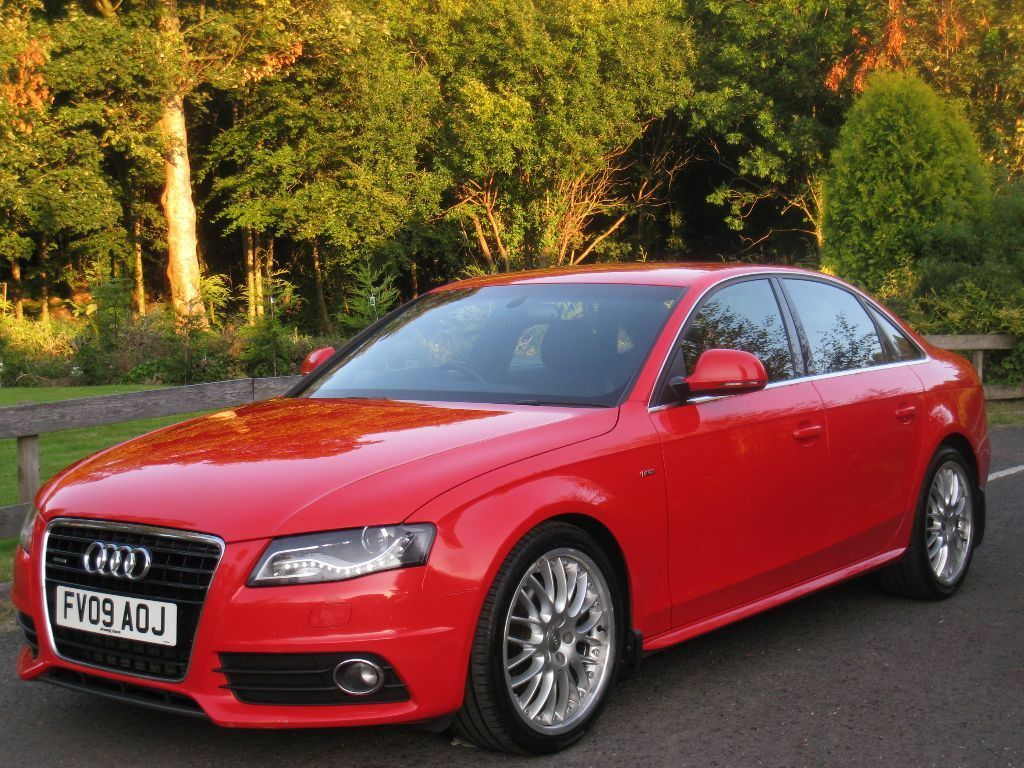 2009 audi a4 3 0 tdi quattro s line auto misano red factory 19 split rims full history. Black Bedroom Furniture Sets. Home Design Ideas