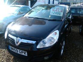 2009 Vauxhall corsa 1.2 petrol 5 door hatch back 75.000 miles full service history full mot tidy car