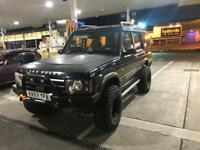 Land rover Discovery TD5 offroader