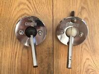 Vintage Gretsch Ball & Joint Tom Mounts