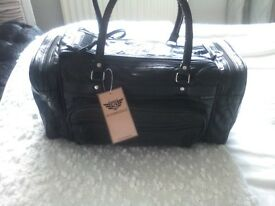 Leather holdhall