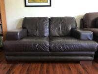 For Sale - 2 seater leather sofa